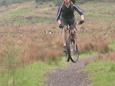 The headless biker of Carron Valley